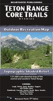 Teton Range hiking map