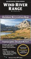 Wind River Range Hiking Map