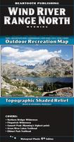 Wind River Range North Hiking Map