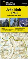 John Muir Trail Hiking map