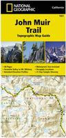 John Muir Trail Hiking map