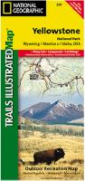 Yellowstone National Park hiking map