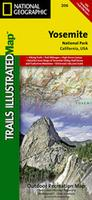Yosemite National Park Hiking map