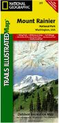 Mt. Rainier National Park hiking map