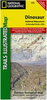 Dinosaur National Monument Hiking Map
