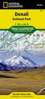 Denali hiking map