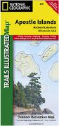 Apostle Islands hiking map