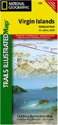 Virgin Islands National Park hiking map