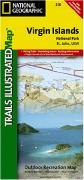 Virgin Islands National Park hiking map