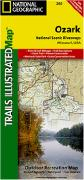 Ozark Scenic Riverway map