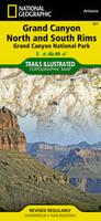 Grand Canyon National Park hiking map