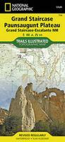 Grand Staircase hiking map