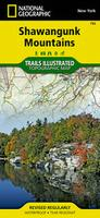 Shawangunk Mountains hiking map