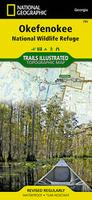 Okefenokee hiking map