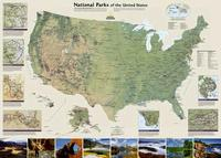 U.S. National Parks map