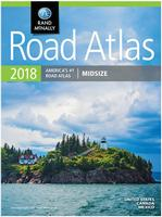 USA mid-sized road atlas