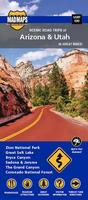 Arizona and Utah motorcycle map
