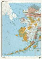 Alaska topographic map