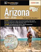 Arizona road atlas