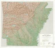 Arkansas topographic map