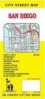 San Diego street map