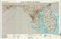 Delaware topographic map
