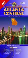 Atlanta Central street map