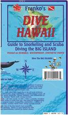 Hawaii Dive Map