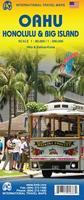 Oahu travel map