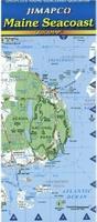 Maine Seacoast Road Map