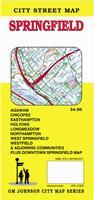 Springfield street map