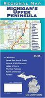 Upper Peninsula road map