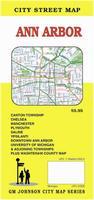 Ann Arbor street map