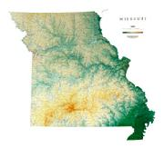Missouri Maps From Omnimap The Leading International Map Store - Missouri map