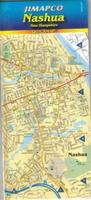 Nashua laminated city map