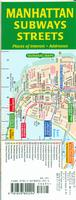 Manhattan Subways and Streets map