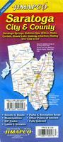 Saratoga city map
