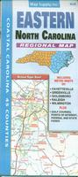 Eastern Carolina road map