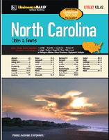 North Carolina Cities street atlas