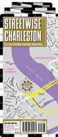 Charleston laminated street map
