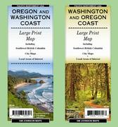 Washington coast road map