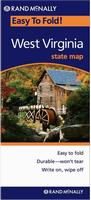 West Virginia travel map