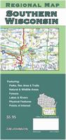 Southern Wisconsin road map