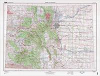 Denver Colorado Elevation Map.Colorado Maps From Omnimap The Leading International Map Store With