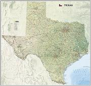 Texas antique map