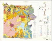 Yellowstone National Park geology map