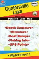 Brownlee Reservoir fishing map