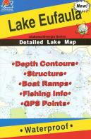 Lake Eufala fishing map