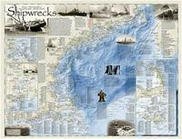 Shipwrecks of the Northeast USA map