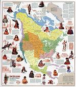 Indians of North America Map